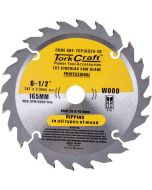 TORK CRAFT CIRCULAR SAW BLADE 165MMX24T