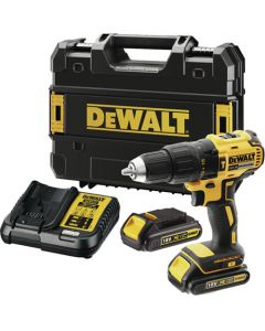DEWALT DCD778S2K 18V BRUSHLESS XR COMPACT HAMMER DRILL DRIVER WITH ACCESSORIES