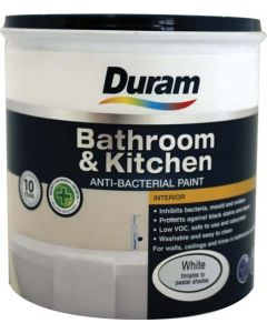 DURAM KITCHEN & BATHROOM ENAMEL WHITE 1L