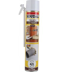 SOUDAL FILL & FIX FOAM 750ML
