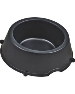 BIG JIM DP0007-BL BLACK HEAVY DUTY DOG BOWL