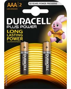 DURACELL DUR004 AAA BATTERY PACK OF 2