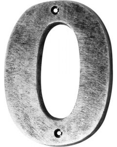 ALESSA ANTIQUE SILVER NUMERAL 0  (200MM)