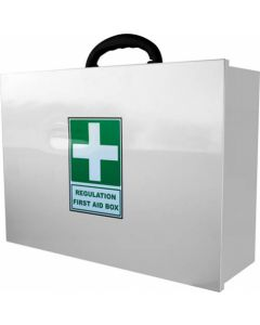 FIRST AID BOX-ONLY FACTORY EA FAID-FBOX (ADD REG-7 REFILL)
