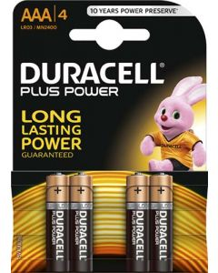 DURACELL DUR011 AAA BATTERY PACK OF 4