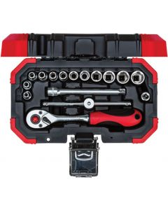 GEDORE RED 49003016 SOCKET SET 1/4 INCH 4-13MM