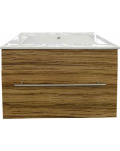DENVER DB2-811-18042 MARLENE INDIAN EBONY CABINET & BASIN 600MM