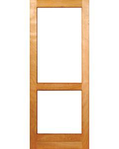 HARDWOOD 2 LIGHT GLASS 813 DOOR