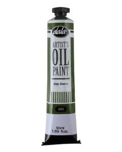 Dala AOP-50ML-605 Sap Green Oil Paint - 50ml
