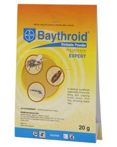 BAYER BAYTHROID WETTABLE POWDER 20G