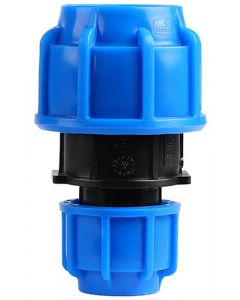 HDPE COMPRESSION COUPLING 40X25MM