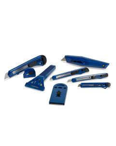 TOPLINE TK3293 8 PIECE UTILITY KNIFE SET