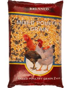 BRENNCO MIXED POULTRY GRAIN 2KG