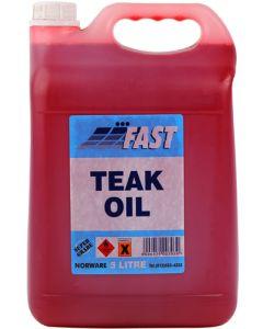 FAST BURMESE TEAK OIL 5L