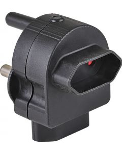 ELECTRICMATE BLACK TOP & BACK ENTRY EUROMATE ADAPTOR