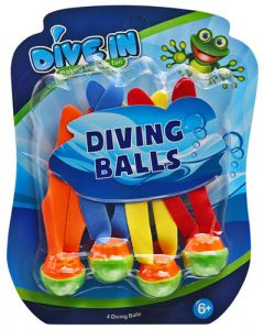 MAJORS FOR MINORS WT-6 DIVING BALLS WITH TAIL