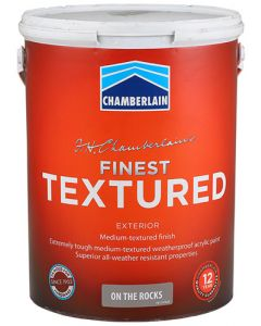 CHAMBER ACRYLIC FINEST TEXTURED ON THE ROCKS 5L