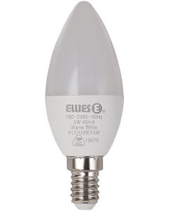 ELLIES FLCANRE14W LED CANDLE RESIDENTIAL LAMP