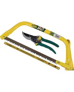 LASHER FG02137 BOW HACKSAW AND SECATEUR COMBO
