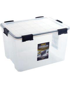 ADDIS 9873CL CLEAR STORE N GUARD STORAGE BOX 68.5L