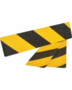 ANTI SLIP TAPE BLACK/YELLOW COMMERCIAL HIGH GRIT 3PIECE