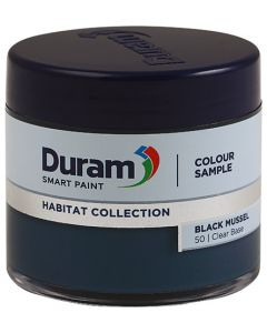 DURAM HABITAT COLLECTION SMART PAINT 90ML (BLACK MUSSEL)