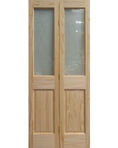 TOPLITE BIFOLD CLEAR PINE DOOR HINGED 813X2032