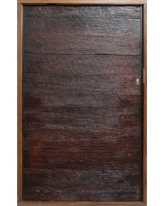 SLEEPER PIVOT EXTERIOR FIBREGLASS DOOR WITH FRAME