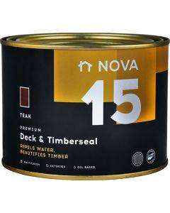 NOVA 15 DECK & TIMBERSEAL TEAK 1L