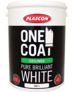 PLASCON ONE COAT CEILING PAINT 5L