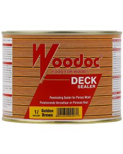 WOODOC DECK SEALER GOLD BROWN 1L