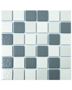 FALCON P3-FT104 MOSAIC TILE PORCELAIN GREY 45MM