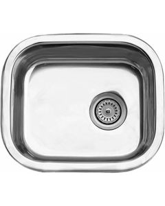 CAM AFRICA PC4030L/SC PREP BOWL SQUARE 455X390MM SINK