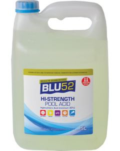 BLU52 HI-STRENGTH POOL ACID 5L