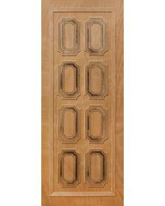 PATTERNED HOLLOW CORE SEBASTIAN ENTRANCE DOOR 813x2032