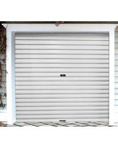 ROLL-UP SINGLE WHITE CHROMODECK GARAGE DOOR 2.4X2.1