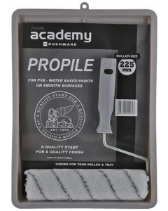 ACADEMY PROPILE  ROLLER SET AND TRAY 225MM