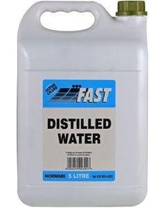 FAST DISTILLED WATER 5L