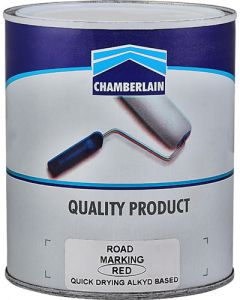 CHAMBERLAIN RED ROAD MARKING PAINT 1L