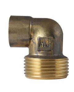 BG92FR/R/1 90° Red Copper Elbow 15x3/4