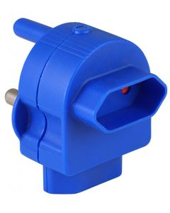 ELECTRICMATE BLUE TOP & BACK ENTRY EUROMATE ADAPTOR