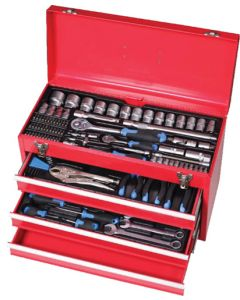 AMCO AMCO-MT117 4-DRAW MECHANICAL  TOOL CHEST 117 PIECE