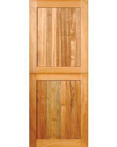 FRAME & LEDGE OPEN BACK HARDBOARD STABLE DOOR 813x2032