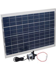 WATERHOUSE XFC5000 5M HIGH SOLAR WATER PUMP WITH PANEL AND FUSE 720L/H