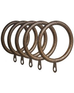 CURTAIN RINGS 35MM GOTHIC BRONZE 35RG10BR