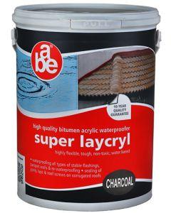 ABE 96067038 SUPER LAYCRYL CHARCOAL 5L