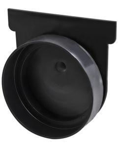 EASYDRAIN AN01884 BLACK END CAP 110MM