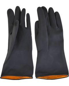 Builder Black Rubber Gloves