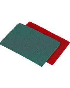 NORTON GREEN & MAROON SCOTCH-BRITE PAD