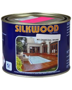 SILKWOOD SEALER M7 CHARCOAL BROWN 1L